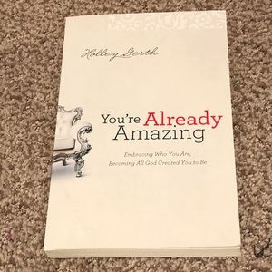 """""""You're Already Amazing"""" by Holley Gerth"""